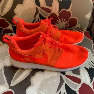 Men's Nike Orange Shoes Size 13